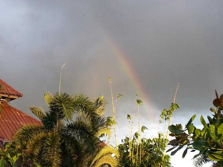 Rainbow at New Life